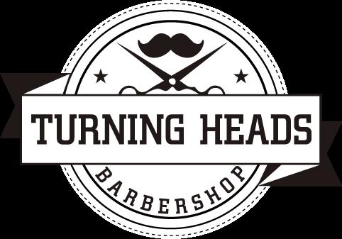 Turning Heads Barbershop Logo