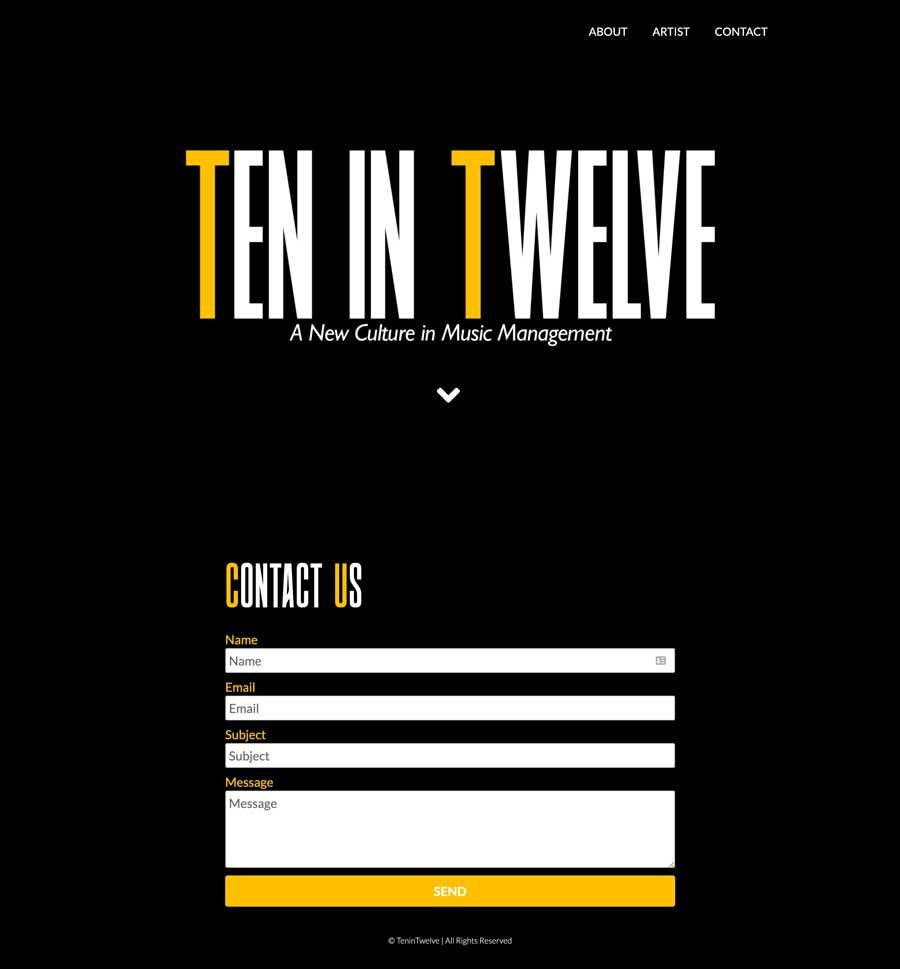 TenIn Twelve screenshot